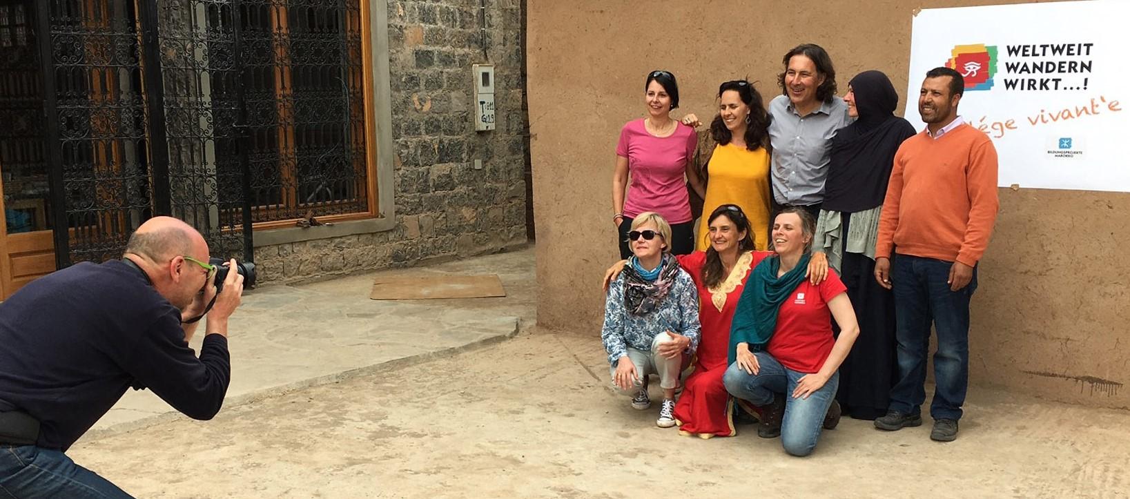 Verein-WeltweitwandernWirkt_Eröffnung_campus-vivante_Marokko_2-bearb